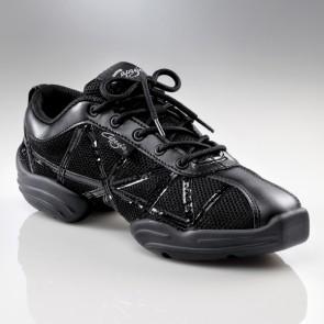 capezio black dance sneakers