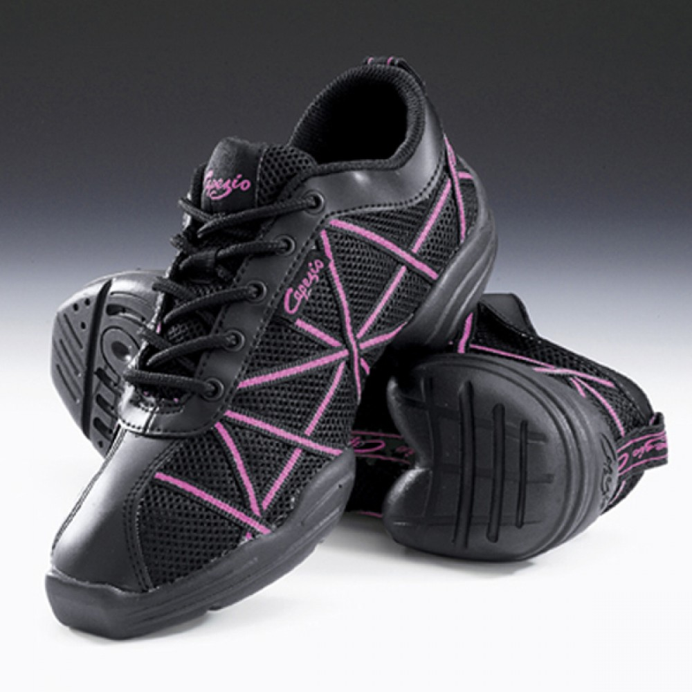 Capezio Hot Pink Dance Sneakers | Kit Angel